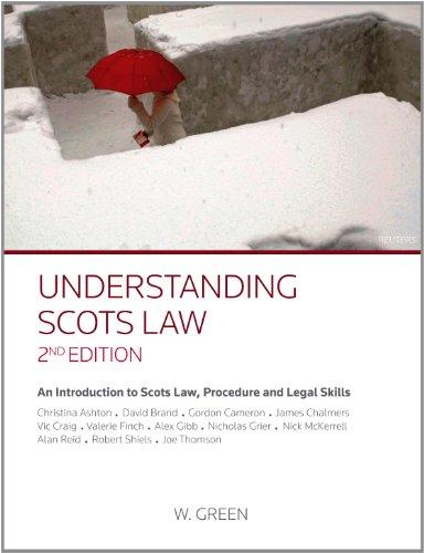 9780414018457: Understanding Scots Law