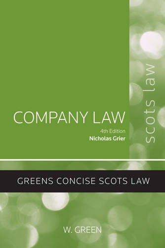 9780414018921: Company Law