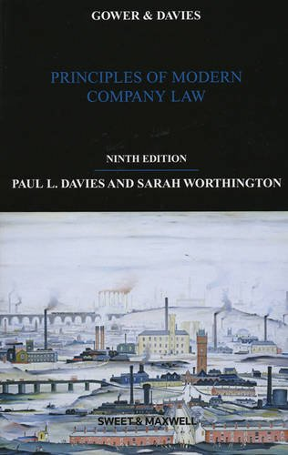 9780414022720: Gower & Davies: Principles of Modern Company Law