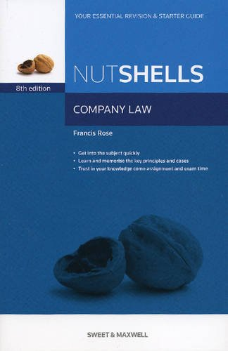 9780414022959: Company Law in a Nutshell