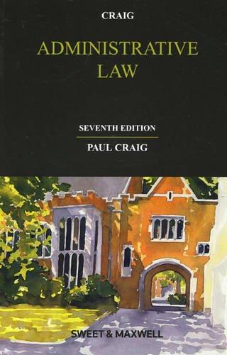 9780414022997: Administrative Law