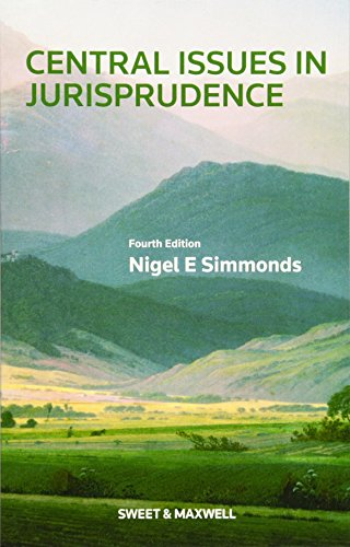Central Issues in Jurisprudence: Simmonds, Nigel