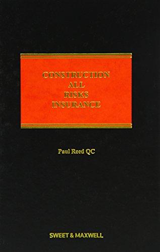 9780414024328: Construction All Risks Insurance