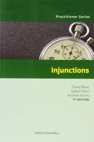 9780414024502: Injunctions