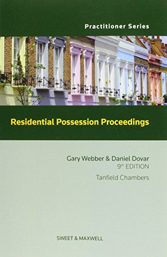Residential Possession Proceedings: Webber, Gary; Dovar, Daniel