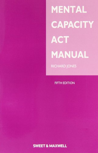 9780414025035: Mental Capacity Act Manual