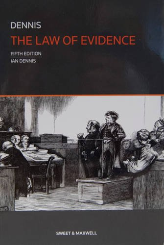 9780414025622: The Law of Evidence