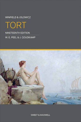 9780414025653: Winfield and Jolowicz on Tort