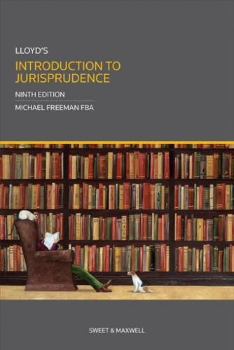9780414026728: Lloyd's Introduction to Jurisprudence