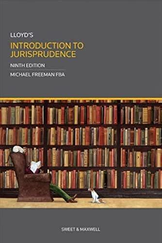 9780414026728: Lloyd's Introduction to Jurisprudence