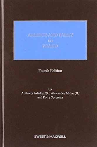 9780414027411: Arlidge and Parry on Fraud
