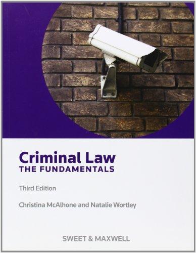9780414027664: Criminal Law - the Fundamentals