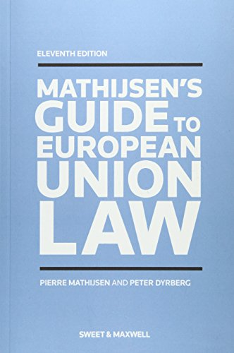 9780414027701: A Guide to European Union Law