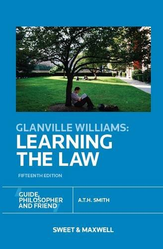 9780414028234: Glanville Williams: Learning the Law