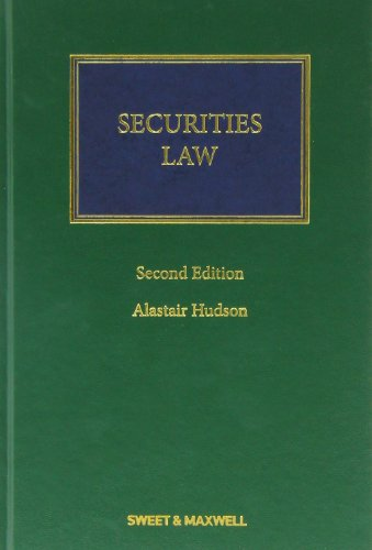 9780414028456: Securities Law