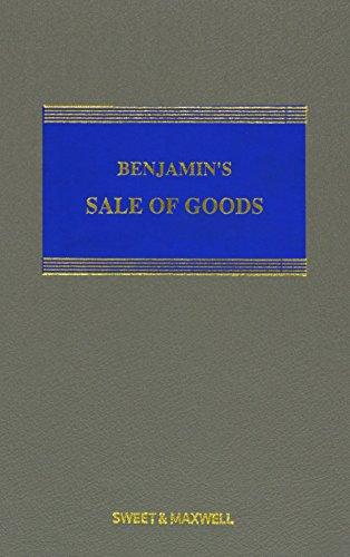 9780414028777: Benjamin's Sale of Goods