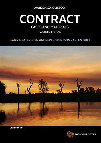 9780414031135: Contract: Cases and Materials