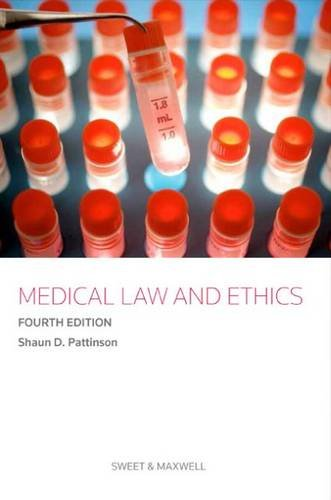 9780414031708: Medical Law and Ethics
