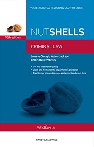 9780414031906: Nutshells Criminal Law