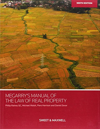 9780414032064: Megarry's Manual of the Law of Real Property
