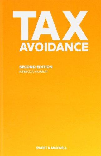 9780414032095: Tax Avoidance
