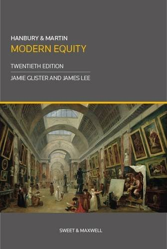 9780414032408: Hanbury & Martin: Modern Equity