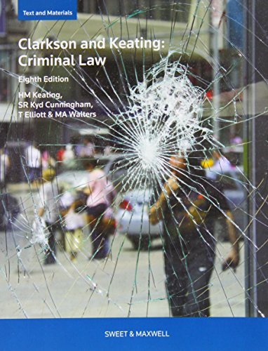 9780414032972: Clarkson & Keating: Criminal Law: Text and Materials