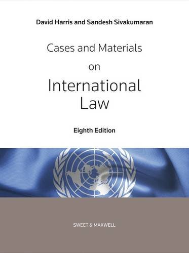 9780414033030: Cases and Materials on International Law