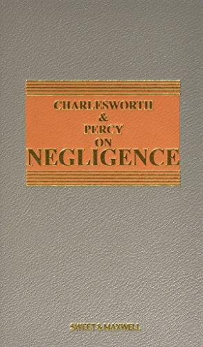 9780414034235: Charlesworth & Percy on Negligence
