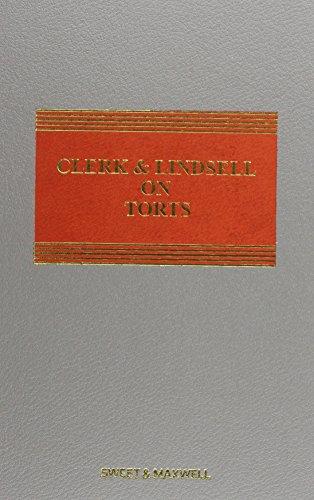 9780414034259: Clerk & Lindsell on Torts