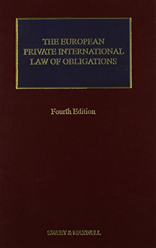 9780414034327: The European Private International Law of Obligations