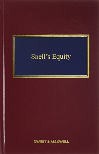 9780414034457: Snell's Equity