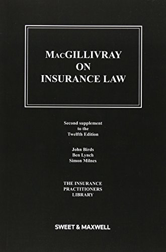 Macgillivray on Insurance Law: 2nd Supplement (Paperback)