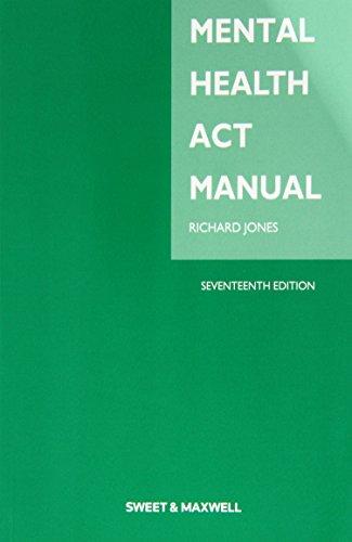 9780414034648: Mental Health Act Manual
