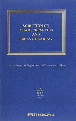 Scrutton on Charterparties and Bills of Lading: Eder, Sir Bernard,