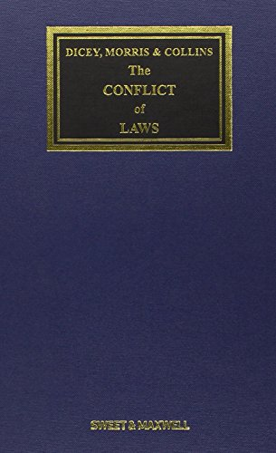 9780414035027: Dicey, Morris & Collins on the Conflict of Laws Mainwork & Supplement