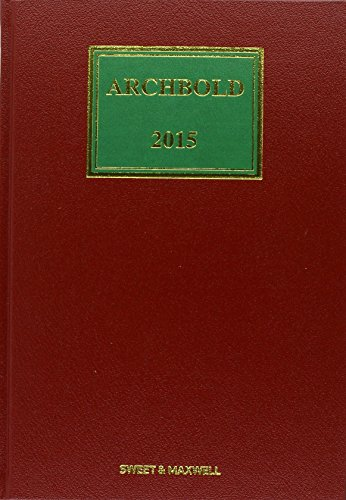 9780414035775: Archbold: Criminal Pleading, Evidence and Practice 2015 1st Supplement Only