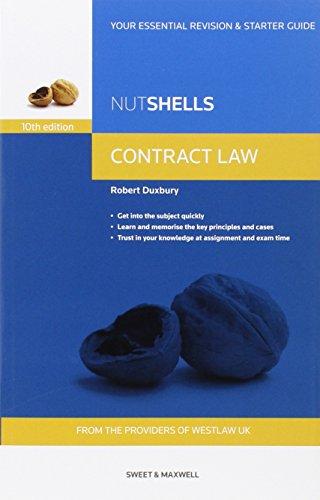 9780414035836: Nutshells Contract Law