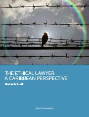 9780414037229: The Ethical Lawyer A Caribbean Perspective