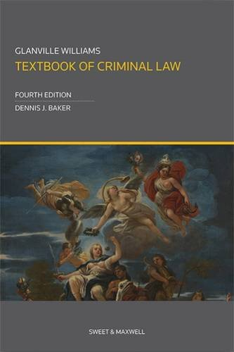 9780414037342: Glanville Williams Textbook of Criminal Law