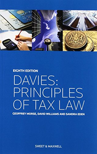 9780414037489: Davies: Principles of Tax Law