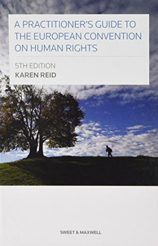9780414038776: A Practitioner's Guide to the European Convention on Human Rights