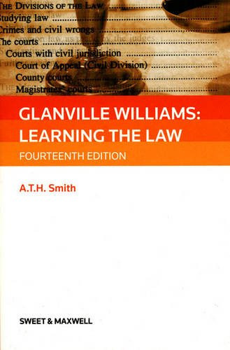 9780414041738: Glanville Williams: Learning the Law