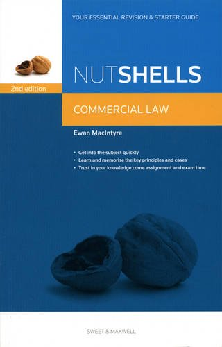 9780414041745: Nutshell Commercial Law