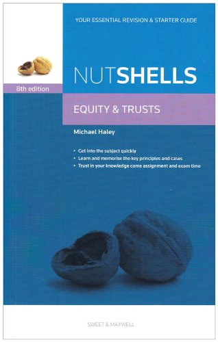 9780414041776  Nutshells  Equity And Trusts Law Revision