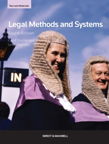 9780414041837: Legal Methods and Systems: Text & Materials