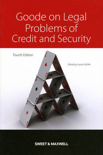 9780414042148: Goode on Legal Problems of Credit and Security