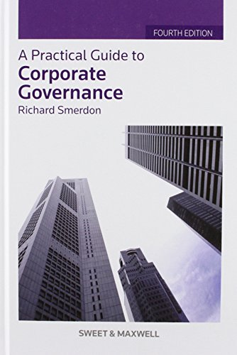 9780414042384: Practical Guide to Corporate Governance