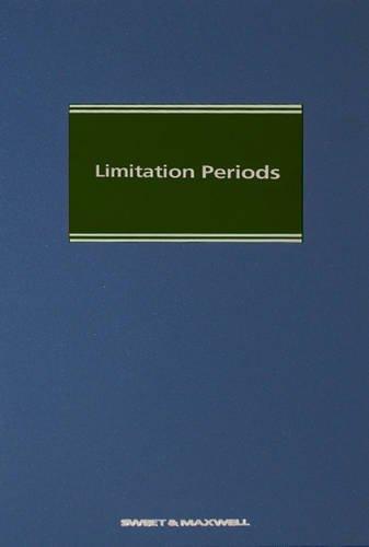 9780414042988: Limitation Periods