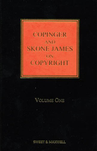 9780414043312: Copinger and Skone James on Copyright. Edited by Kevin Garnett, Gillian Davies, Gwilym Harbottle